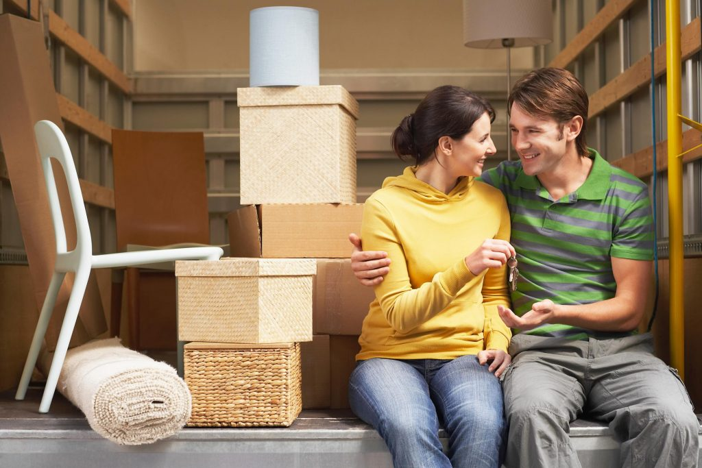 Couple is happy with our removal service